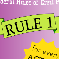 Rule 1. Scope and Purpose These rules govern the procedure in all civil actions and proceedings in the United States district courts, except as stated in Rule 81. They should be construed and administered to secure the just, speedy, and inexpensive determination of every action and proceeding.