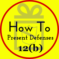 RULE 12. DEFENSES AND OBJECTIONS: WHEN AND HOW PRESENTED; MOTION FOR JUDGMENT ON THE PLEADINGS; CONSOLIDATING MOTIONS; WAIVING DEFENSES; PRETRIAL HEARING  (a) Time to Serve a Responsive Pleading.  (1) In General. Unless another time is specified by this rule or a federal statute, the time for serving a responsive pleading is as follows:  (A) A defendant must serve an answer:  (i) within 21 days after being served with the summons and complaint; or  (ii) if it has timely waived service under Rule 4(d), within 60 days after the request for a waiver was sent, or within 90 days after it was sent to the defendant outside any judicial district of the United States.  (B) A party must serve an answer to a counterclaim or crossclaim within 21 days after being served with the pleading that states the counterclaim or crossclaim.  (C) A party must serve a reply to an answer within 21 days after being served with an order to reply, unless the order specifies a different time. (2) United States and Its Agencies, Officers, or Employees Sued in an Official Capacity. The United States, a United States agency, or a United States officer or employee sued only in an official capacity must serve an answer to a complaint, counterclaim, or crossclaim within 60 days after service on the United States attorney.  (3) United States Officers or Employees Sued in an Individual Capacity. A United States officer or employee sued in an individual capacity for an act or omission occurring in connection with duties performed on the United States' behalf must serve an answer to a complaint, counterclaim, or crossclaim within 60 days after service on the officer or employee or service on the United States attorney, whichever is later.  (4) Effect of a Motion. Unless the court sets a different time, serving a motion under this rule alters these periods as follows:  (A) if the court denies the motion or postpones its disposition until trial, the responsive pleading must be served within 14 days after notice of the court's action; or  (B) if the court grants a motion for a more definite statement, the responsive pleading must be served within 14 days after the more definite statement is served.  (b) How to Present Defenses. Every defense to a claim for relief in any pleading must be asserted in the responsive pleading if one is required. But a party may assert the following defenses by motion:  (1) lack of subject-matter jurisdiction;  (2) lack of personal jurisdiction;  (3) improper venue;  (4) insufficient process;  (5) insufficient service of process;  (6) failure to state a claim upon which relief can be granted; and  (7) failure to join a party under Rule 19.